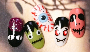 Halloween-立體眼球 |DIY美甲|彩繪|NLT教學部|基礎彩繪|萬聖節|教學