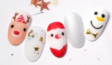 #聖誕派對 |DIY美甲|彩繪|NLT教學部|聖誕老師|冬天|X'mas|教學