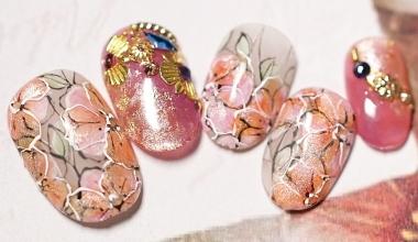 楓糖朵朵  專業美甲 沙龍應用 台灣老師 花 Ting 暈染液 奶油膠 教學